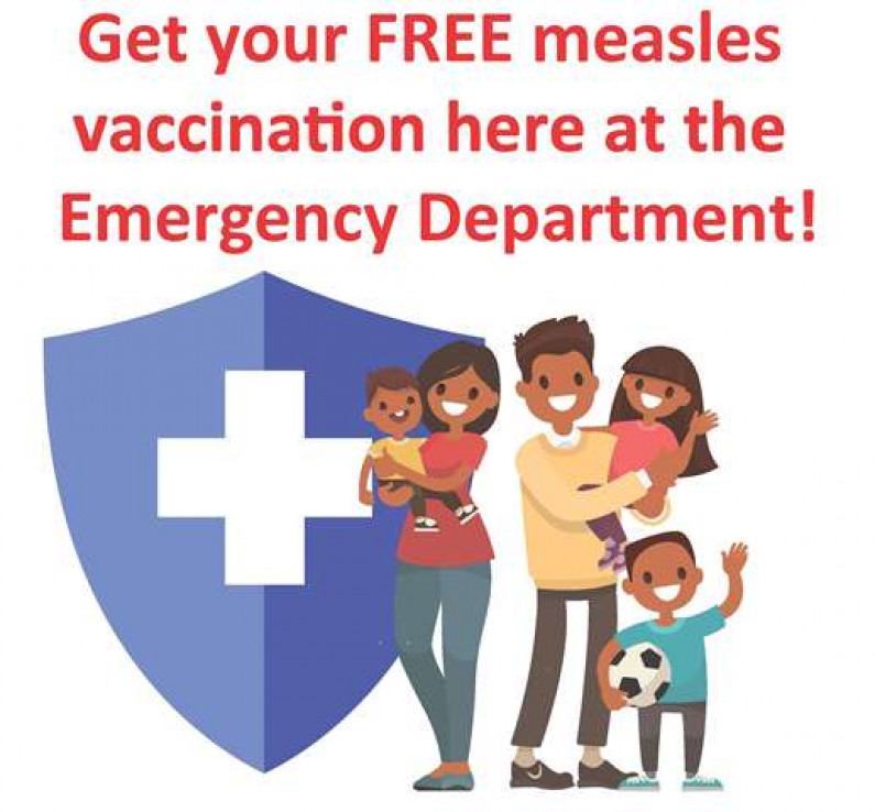 Measles ED clinic poster final